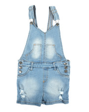 Overalls & Jumpers - Shortalls W/ Pockets (7-16)-2342296