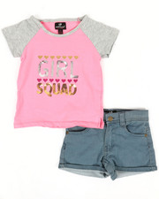 Dollhouse - 2 Pc Tee & Shorts Set (7-16)-2345625