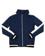 Activewear - Poly Color Block Track Jacket (8-20)-2341681