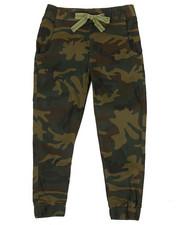 Sizes 8-20 - Big Kids - Camo Twill Jogger Pants (8-20)-2339704