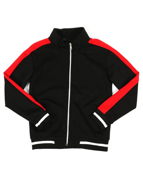 Arcade Styles - Poly Color Block Track Jacket (8-20)