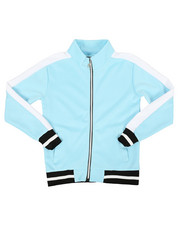 Arcade Styles - Poly Color Block Track Jacket (8-20)-2341646