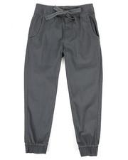 Sizes 8-20 - Big Kids - Twill Jogger Pants (8-20)-2339631