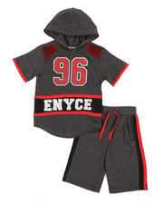 Enyce - 2pc Tee & Shorts Set (8-20)-2340612