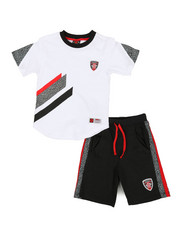 Enyce - 2pc Tee & Shorts Set (8-20)-2340588