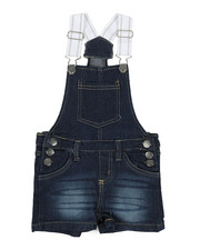 Overalls & Jumpers - Shortalls W/ Pockets (2T-4T)-2342327