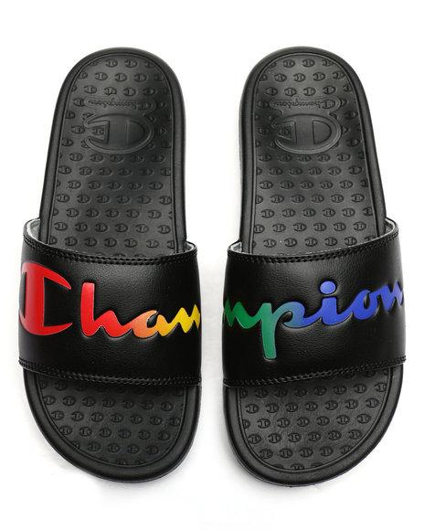 Champion - Super Slide Split Script Sandals
