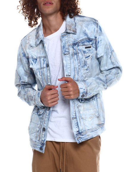 Preme - Distressed Denim Jacket