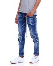 Jeans - DOUBLE RIP AND TEAR KNEE JEAN-2348110