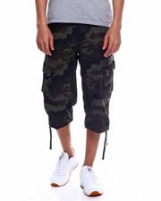 Shorts - Long CARGO SHORT - OLIVE CAMO-2348187