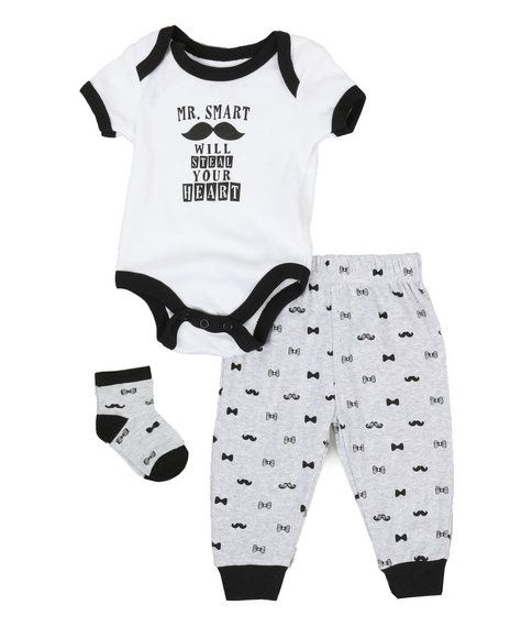 4457ddb3e Buy 3 Piece Slogan Knit Set (Infant) Boys Sets from Duck Duck Goose ...