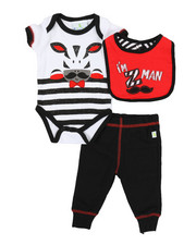 Duck Duck Goose - 3 Piece Z-Man Knit Set (Infant)-2339446