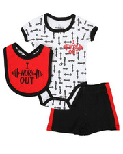 Duck Duck Goose - 3 Piece Knit Set (Infant)-2337543