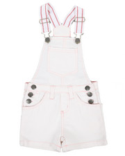 Overalls & Jumpers - Shortalls W/ Pockets (7-16)-2342192
