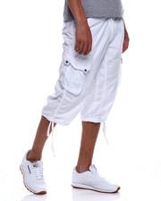 Shorts - Long CARGO SHORT - White-2348175