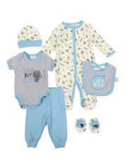Duck Duck Goose - Wild But Cute 7 Piece Gift Set (Infant)-2339420