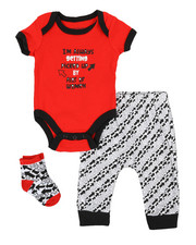 Duck Duck Goose - 3 Piece Slogan Knit Set (Infant)-2339442