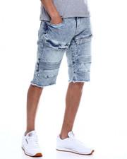Shorts - Cut off Moto Denim Short-2348146