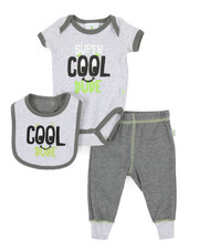 Duck Duck Goose - 3 Piece Cool Dude Knit Set (Infant)-2342123