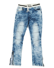 Jeans - Pull On Rib Jeans (8-20)-2339619
