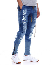 Jeans & Pants - KNIT JOGGER ANKLE JEAN-2348200