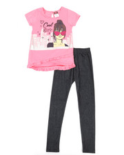 Sizes 4-6x - Kids - Fashion Top & Legging Set (4-6X)-2345591