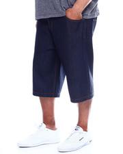 Shorts - 5-Pocket Raw Denim Short (B&T)-2348494