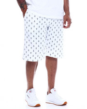 Buyers Picks - Mens Fleece Print Shorts (B&T)-2348352