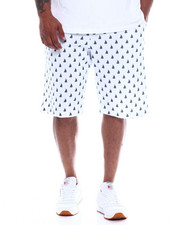 Men - Mens Fleece Print Shorts (B&T)-2348356