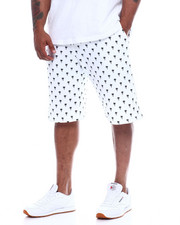 Shorts - Mens Fleece Print Shorts (B&T)-2348348