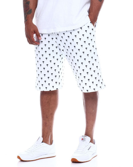 Buyers Picks - Mens Fleece Print Shorts (B&T)