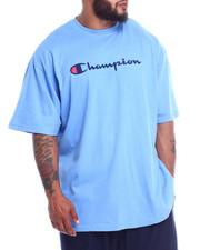 Champion - S/S  Retro Champion Script Tee (B&T)-2212991