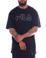 Fila - Fila Print Outline Logo Tee (B&T)-2345701