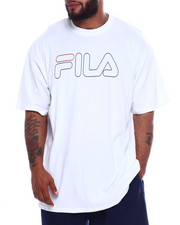 Short-Sleeve - Fila Print Outline Logo Tee (B&T)-2346120