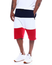 Shorts - Tech Fleece Shorts W/ Color Block (B&T)-2348360