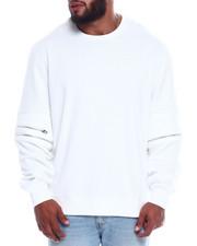Pullover Sweatshirts - Zip Detail Sweatshirt (B&T)-2348513