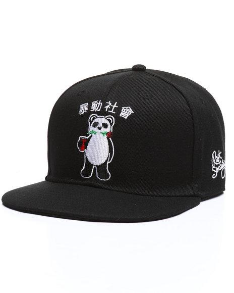 RIOT SOCIETY - Panda Snapback Hat