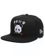 RIOT SOCIETY - Panda Snapback Hat-2346319