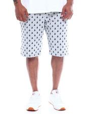 Big & Tall - Mens Fleece Print Shorts (B&T)-2348340