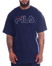 Fila - Fila Print Outline Logo Tee (B&T)-2346132