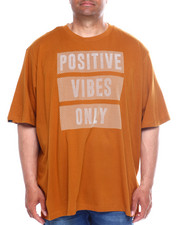 Big & Tall Faves - Positive Vibes S/S Tee (B&T)-2348039