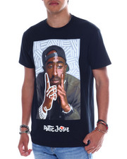 Shirts - TUPAC POETIC JUSTICE TEE-2349025