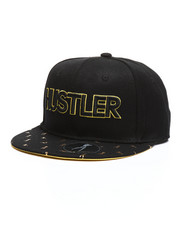 Hustler - Girls All Over Print Visor Snapback Hat-2348598