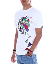 Shirts - BREAK-AWAY TEE W/FLOCKING PRINT-2349063