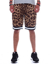 Spring-Summer-M - CHEETAH MESH B BALL SHORT-2347952
