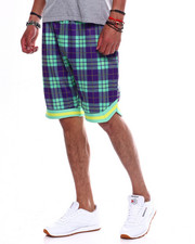 Spring-Summer-M - PLAID MESH B BALL SHORT-2348011