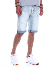 Spring-Summer-M - Distressed Roll Up Jean Short-2348426
