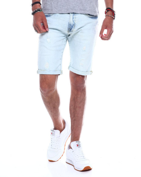 Buyers Picks - Distressed Roll up Denim Short