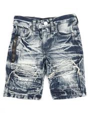 Arcade Styles - Ripped Denim Shorts (4-7)-2342825