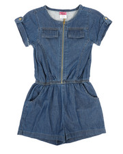 Rompers - Chambray Romper (7-16)-2345953